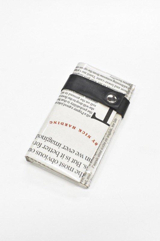 ANTI SYSTEM NEWS PAPER コインカードケース - 052