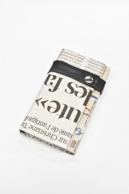 ANTI SYSTEM NEWS PAPER コインカードケース - 053
