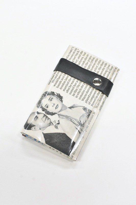 ANTI SYSTEM NEWS PAPER コインカードケース - 054