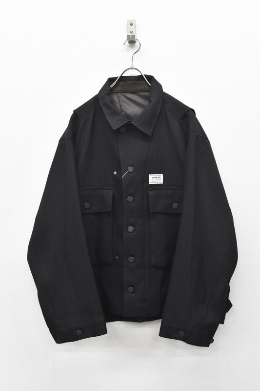 elephant TRIBAL fabrics / Hybrid M43 JKT - BLACK