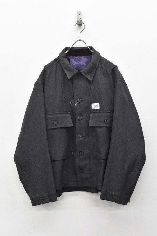 elephant TRIBAL fabrics / Hybrid M43 JKT - CHARCOAL GRAY