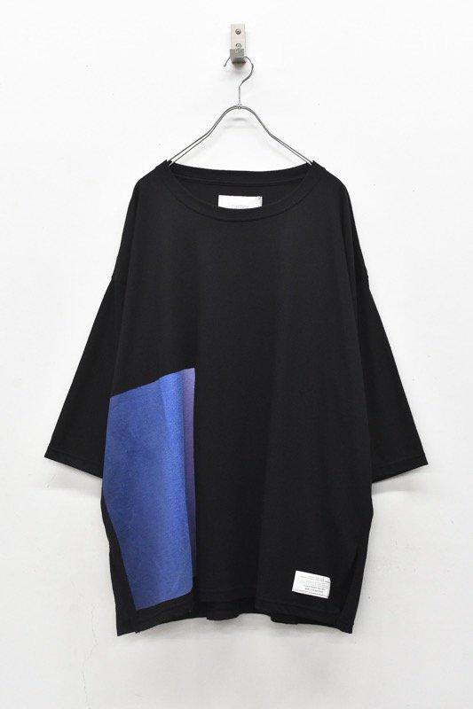 prasthana / C/S big middle sleeve - BLACK