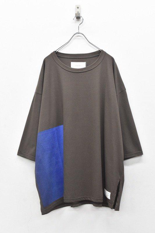 prasthana / C/S big middle sleeve - CHARCOAL