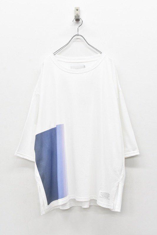 prasthana / C/S big middle sleeve - WHITE