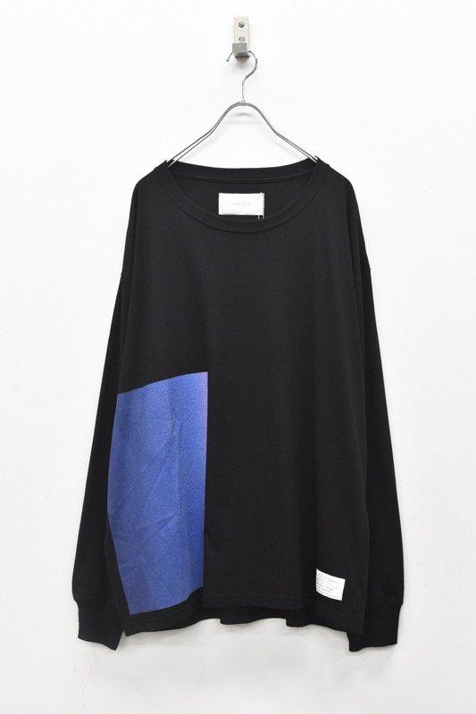 prasthana / C/S classic long sleeve - BLACK