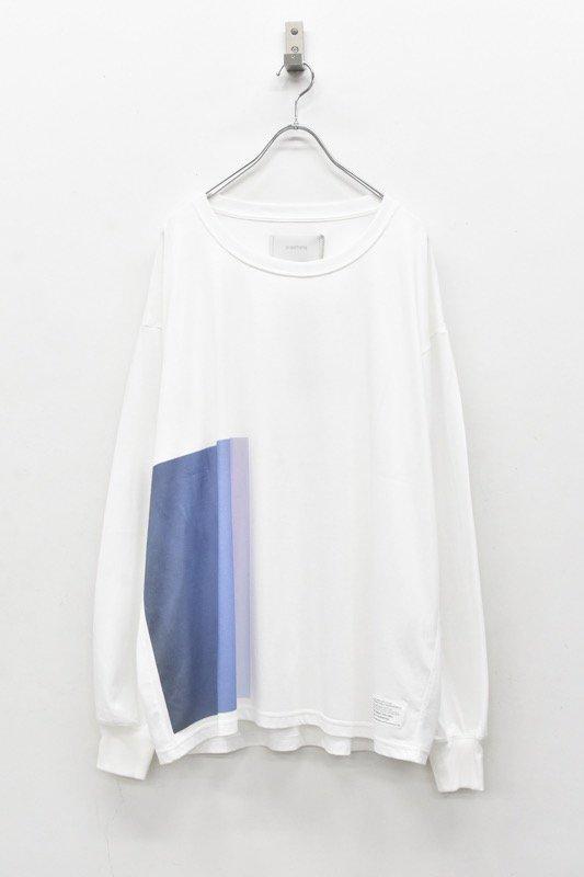 prasthana / C/S classic long sleeve - WHITE