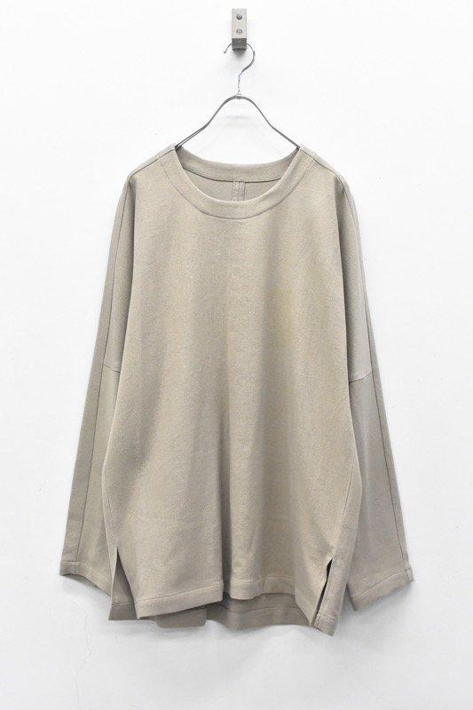 YANTOR / 6Play Khadi Long Pullover - BEIGE