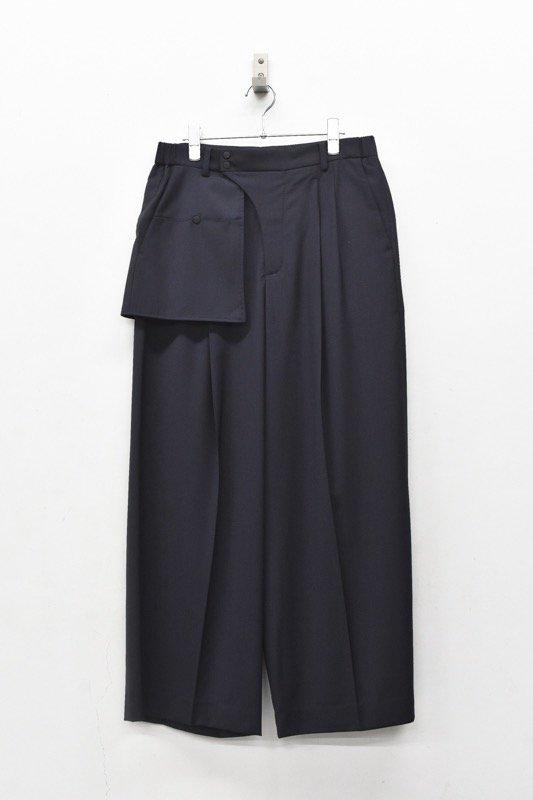 HATRA / Organ Sway Trousers - NAVY
