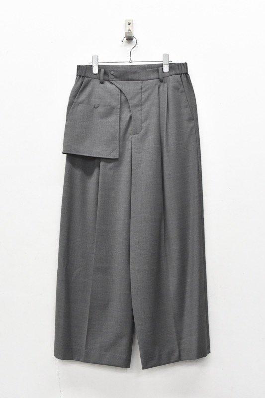 HATRA / Organ Sway Trousers - GREY