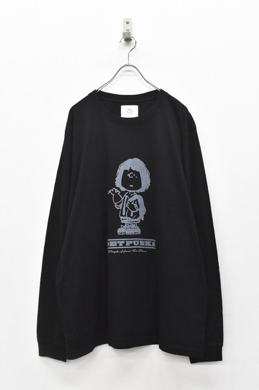 STOF / PUNKS L/S Tee - パティスミス BLACK
