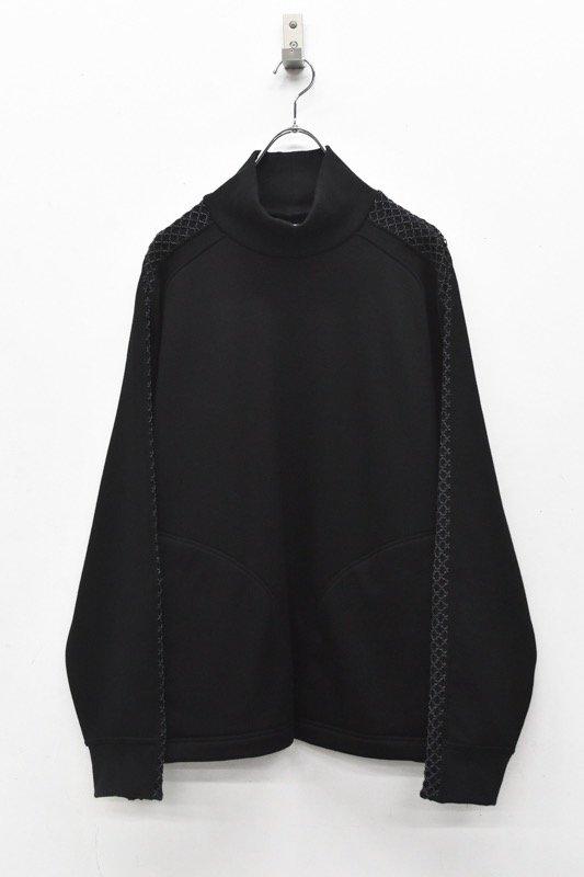 HATRA / Nace Line Sweat Shirt - BLACK