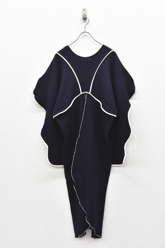 HOUGA / Drawing pullover - NAVY