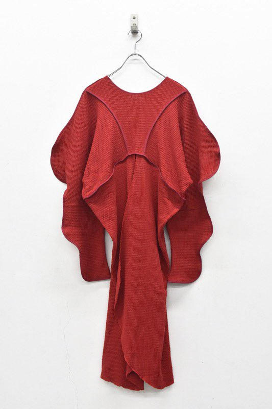 HOUGA / Drawing pullover - RED