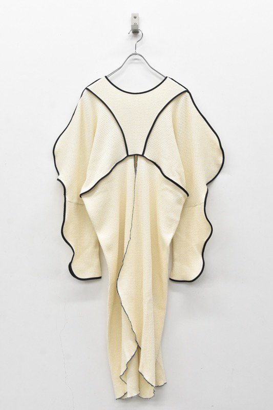 HOUGA / Drawing pullover - WHITE