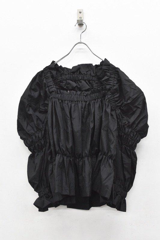 HOUGA / kiki blouse - BLACK