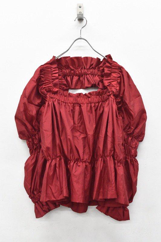 HOUGA / kiki blouse - RED
