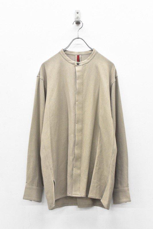 YANTOR / 6Play Khadi Flyflont shirts - BEIGE
