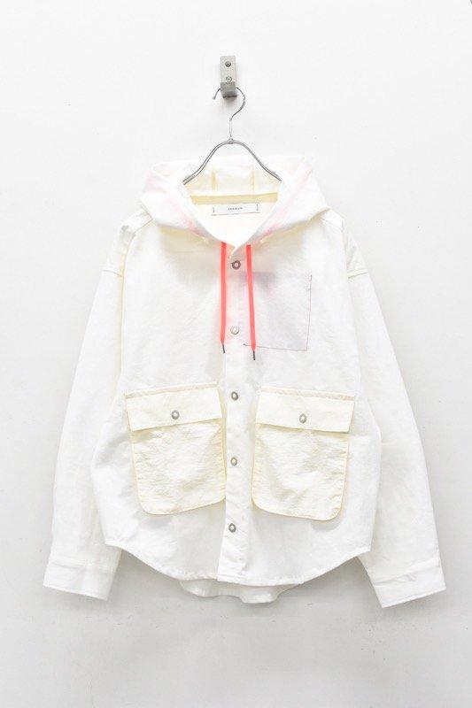 sneeuw / シャツパーカー - WHITE