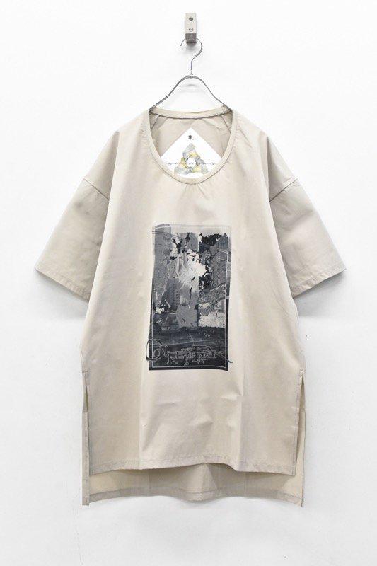 アーカイブ BALMUNG / グラフィックビッグTシャツ - CONCREAT PARK ベージュ