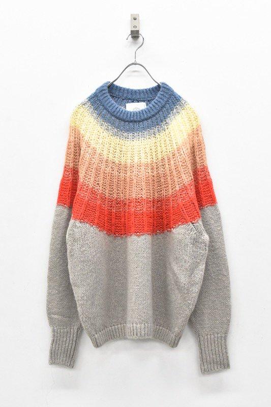 bedsidedrama / Aurora Mohair Knit OP - SUNRISE