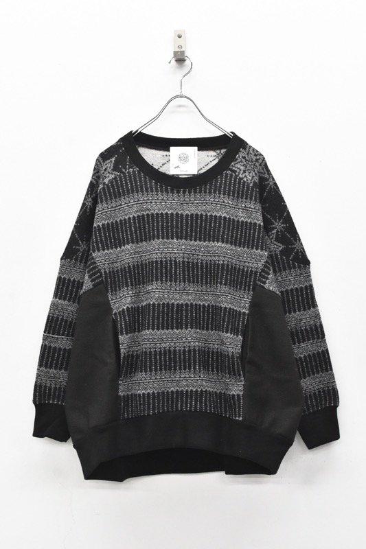 bedsidedrama / North Landic Pullover - BLACK