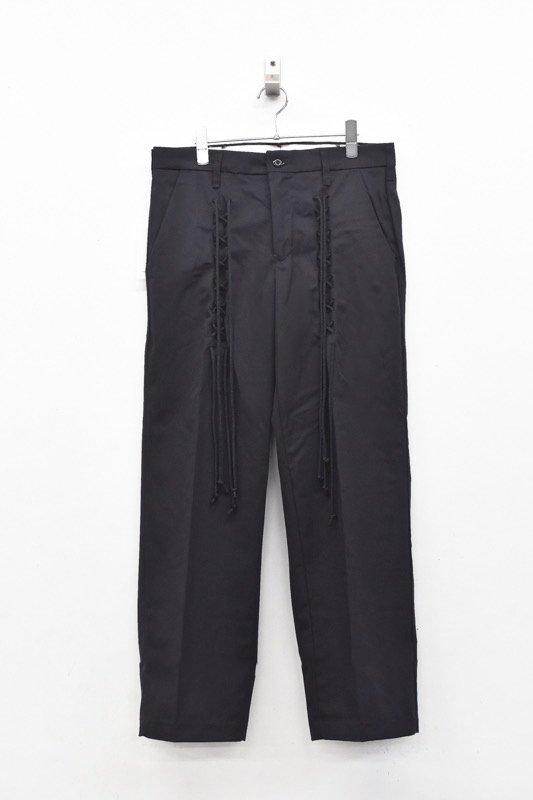 elephant TRIBAL fabrics / Race up work PT - BLACK