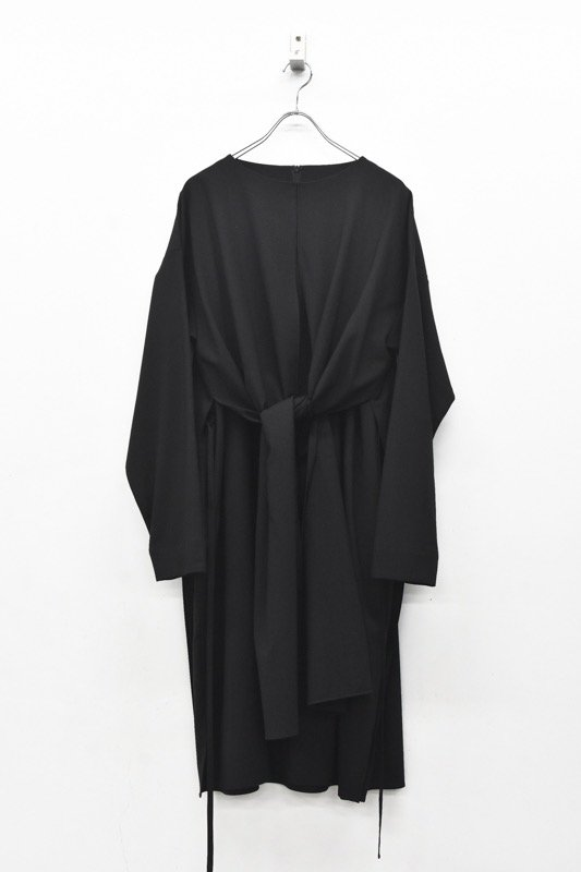 YANTOR / Toro wool Double One-piece - BLACK