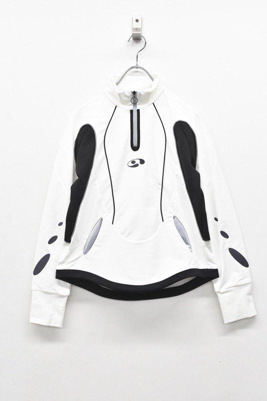 chloma / コクピットジャケット - ホワイト*ブラック