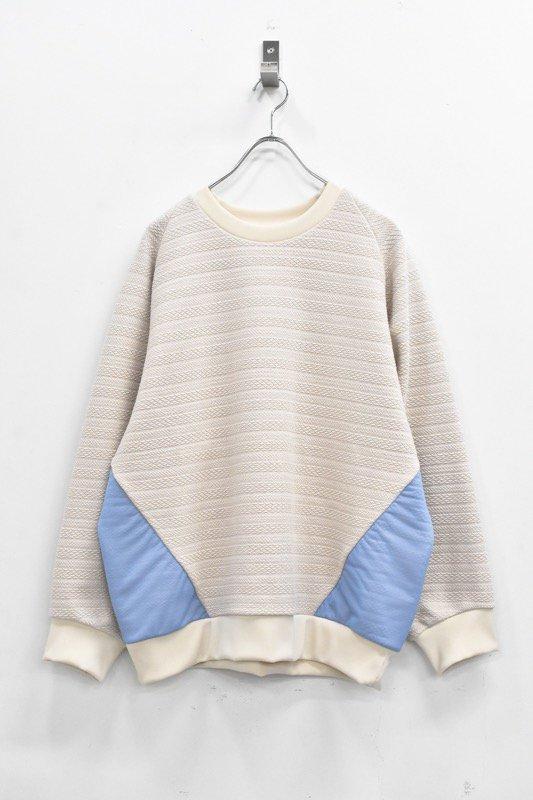 先行予約 YUKI SHIMANE / Raglan Sweat Pullover - BEIGE