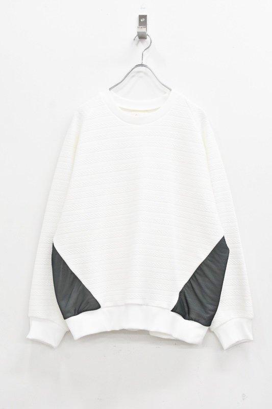 先行予約 YUKI SHIMANE / Raglan Sweat Pullover - WHITE