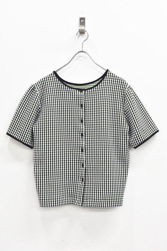 先行予約 YUKI SHIMANE / 2way Harf Sleeve Tshirt - GREEN
