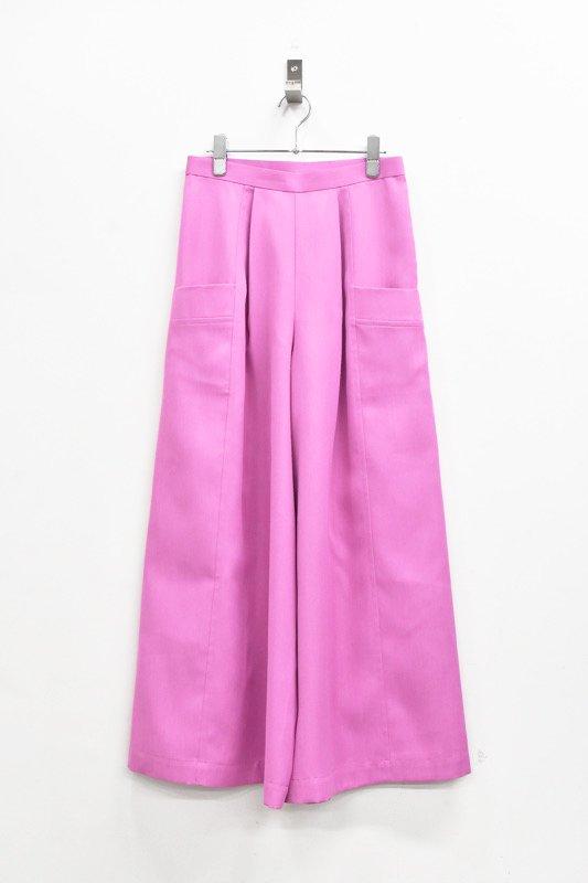 先行予約 YUKI SHIMANE / Bright Color pants - PINK