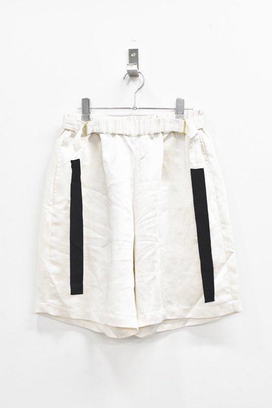 先行予約 YUKI SHIMANE / Active Sister Short pants - WHITE