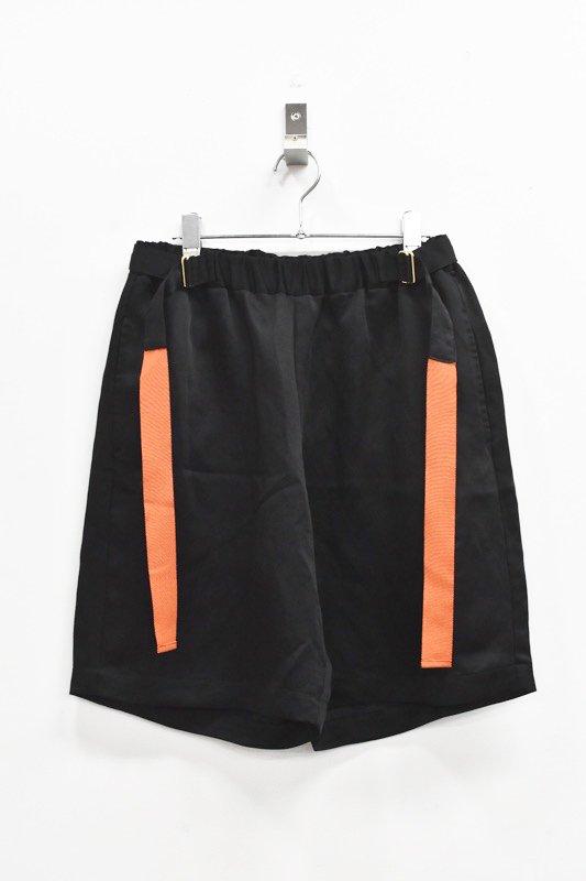 先行予約 YUKI SHIMANE / Active Sister Short pants - BLACK