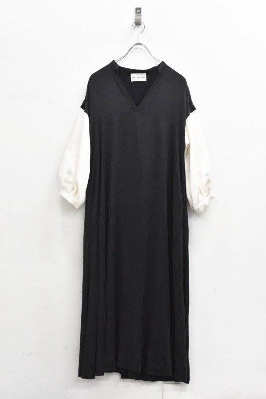 先行予約 YUKI SHIMANE / Hazel dress - BLACK