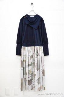 ohta scarf mono dress