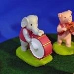 オーナメント 音符の森 ゾウ