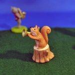 オーナメント 音符の森 リス
