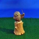 オーナメント 音符の森 フクロウ