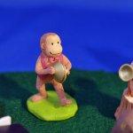 オーナメント 音符の森 サル