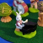 オーナメント 音符の森 ウサギ