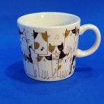 キャリコ 猫♪ マグ  (茶)