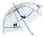 ドレミジーンビニール傘 ピンク