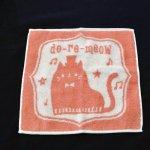 do-re-meow タオルハンカチ ピンク