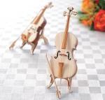 手のひらサイズの楽器 ひのきのチェロ