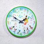 掛置時計 マーチングバンド