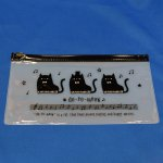 PVCペンケース do-re-meow