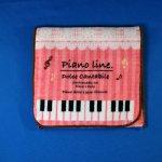 Piano line ポケットタオル ねこ
