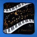 Piano line ハンドタオル 音符