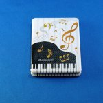 ミュージックハンドミラー ピアノホワイト